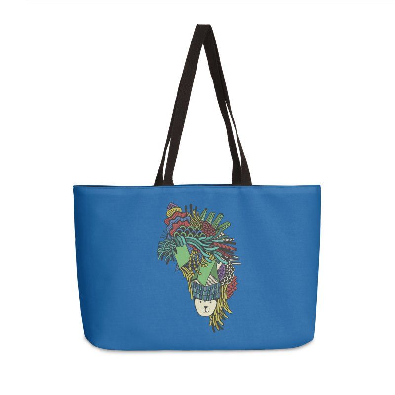 Colorful Vegetables Accessories Weekender Bag Bag by The Babybirds