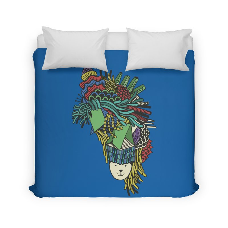 Colorful Vegetables Home Duvet by The Babybirds