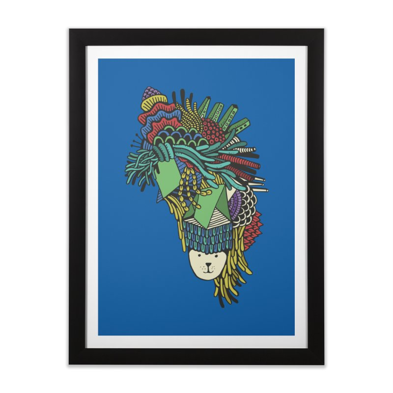 Colorful Vegetables Home Framed Fine Art Print by The Babybirds