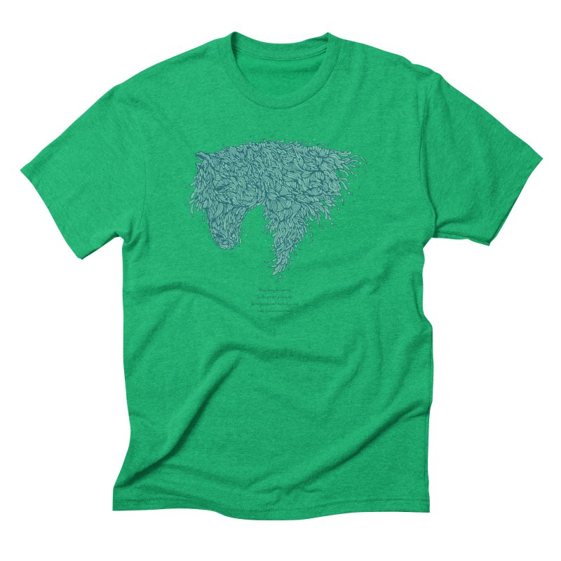 Horsey Men's T-Shirt by The Babybirds