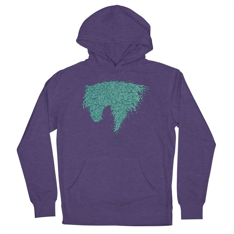 Horsey Women's Pullover Hoody by The Babybirds