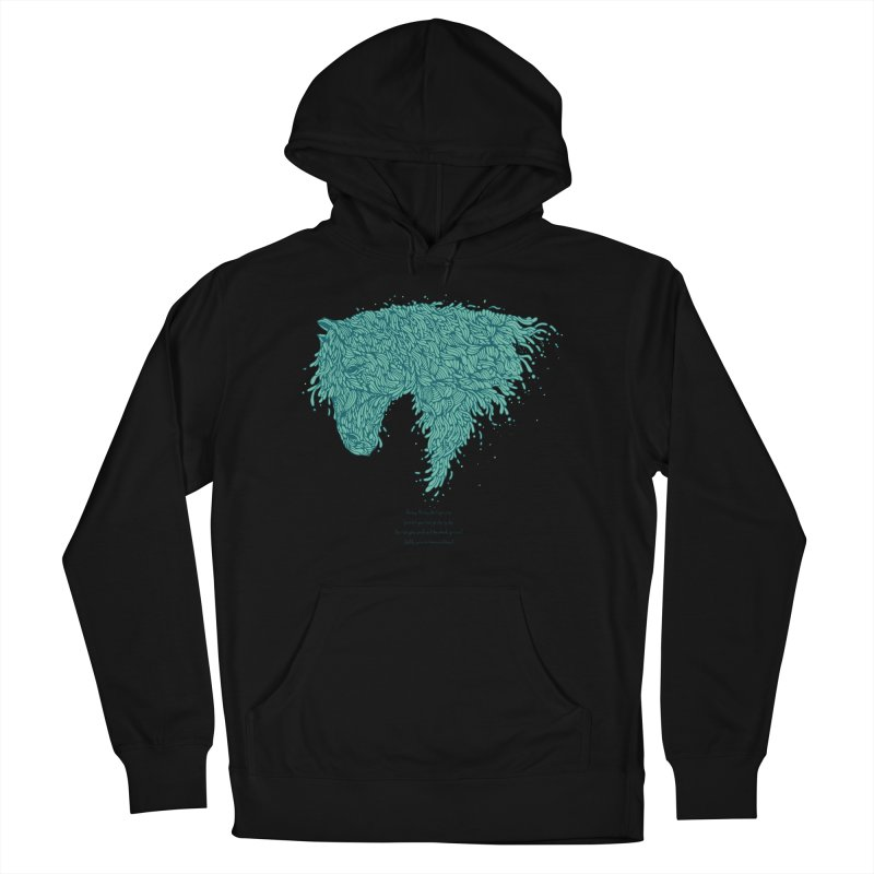 Horsey Men's Pullover Hoody by The Babybirds