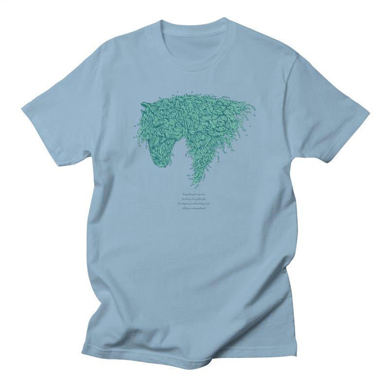 Horsey Women's Regular Unisex T-Shirt by The Babybirds