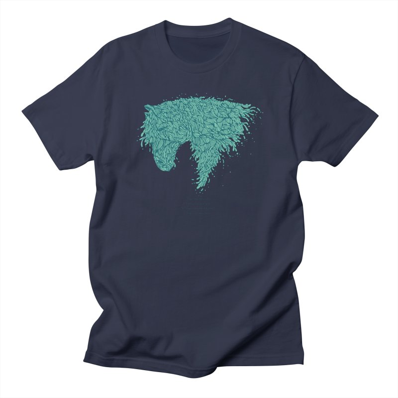 Horsey Men's Regular T-Shirt by The Babybirds