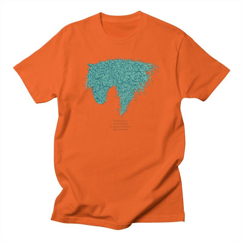 Horsey Women's Unisex T-Shirt by The Babybirds