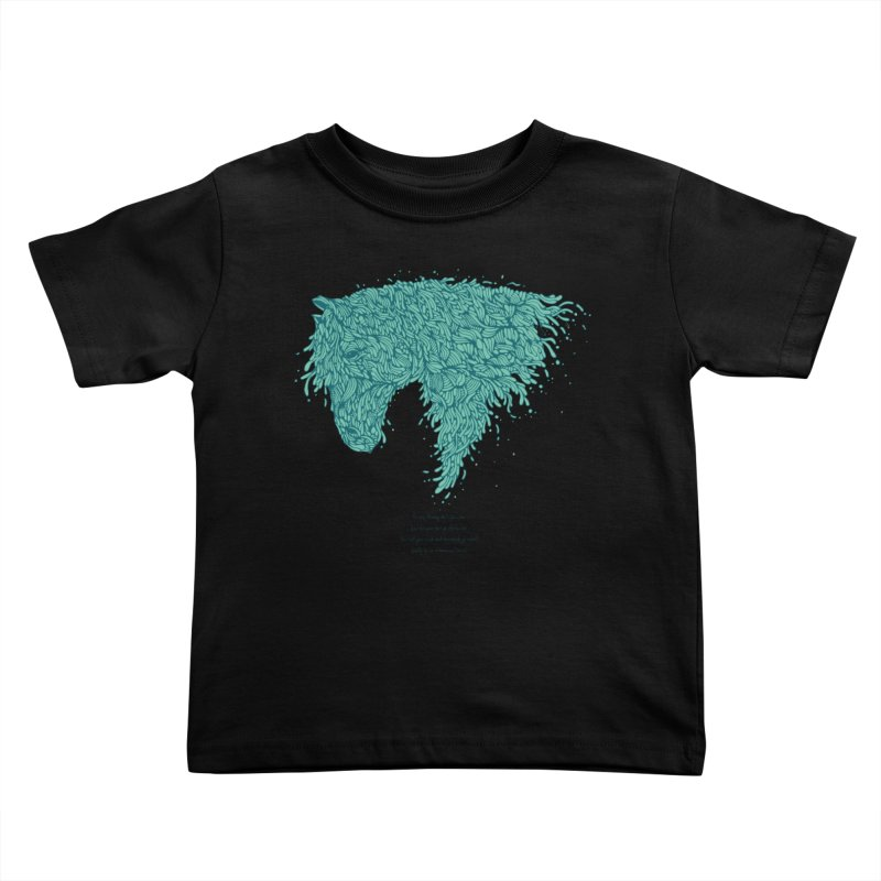 Horsey Kids Toddler T-Shirt by The Babybirds