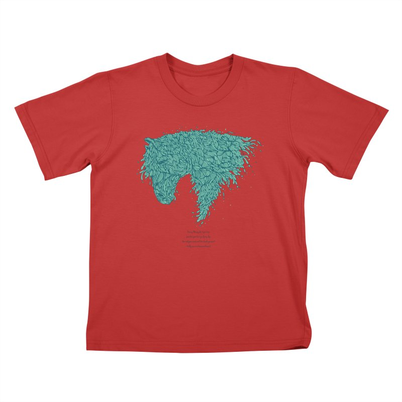 Horsey Kids T-Shirt by The Babybirds