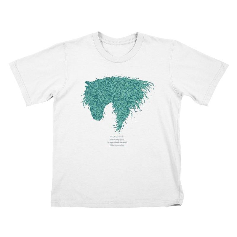 Horsey Kids T-Shirt by The Babybirds