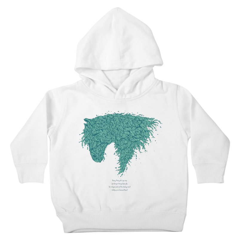 Horsey Kids Toddler Pullover Hoody by The Babybirds