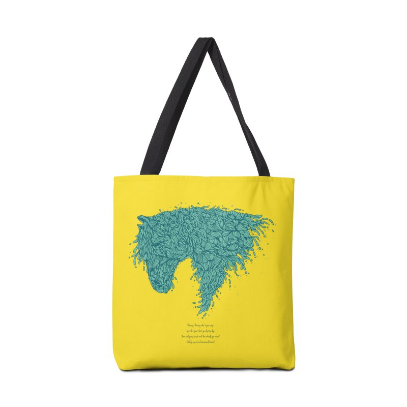 Horsey Accessories Tote Bag Bag by The Babybirds