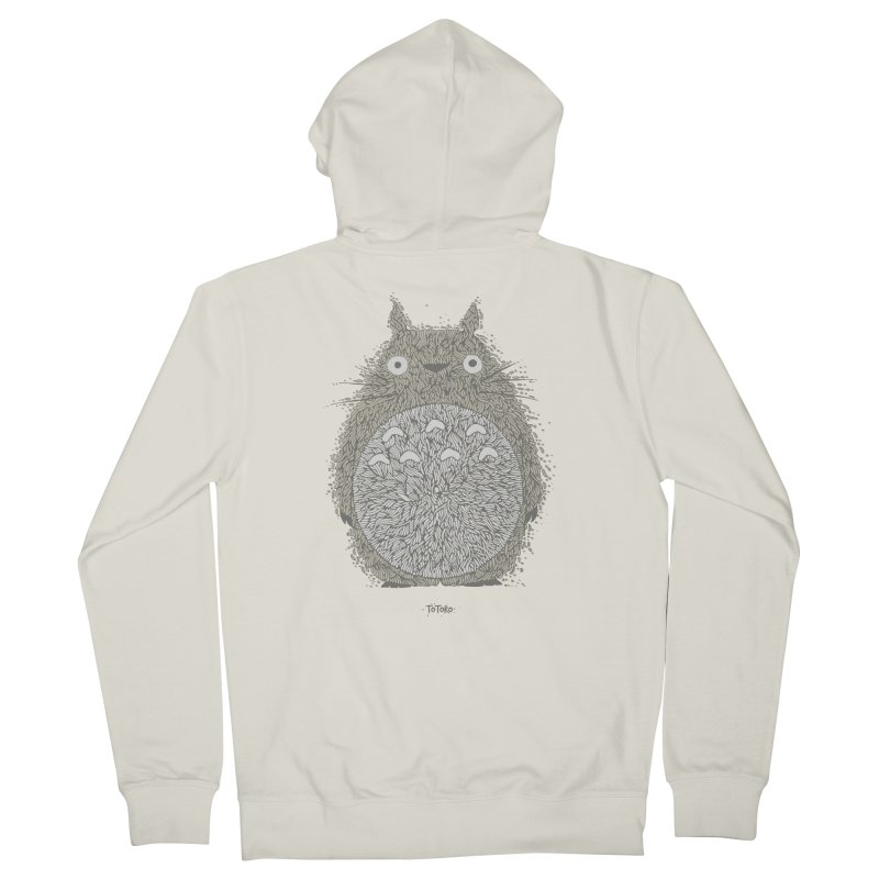 My Neighbour Men's French Terry Zip-Up Hoody by The Babybirds