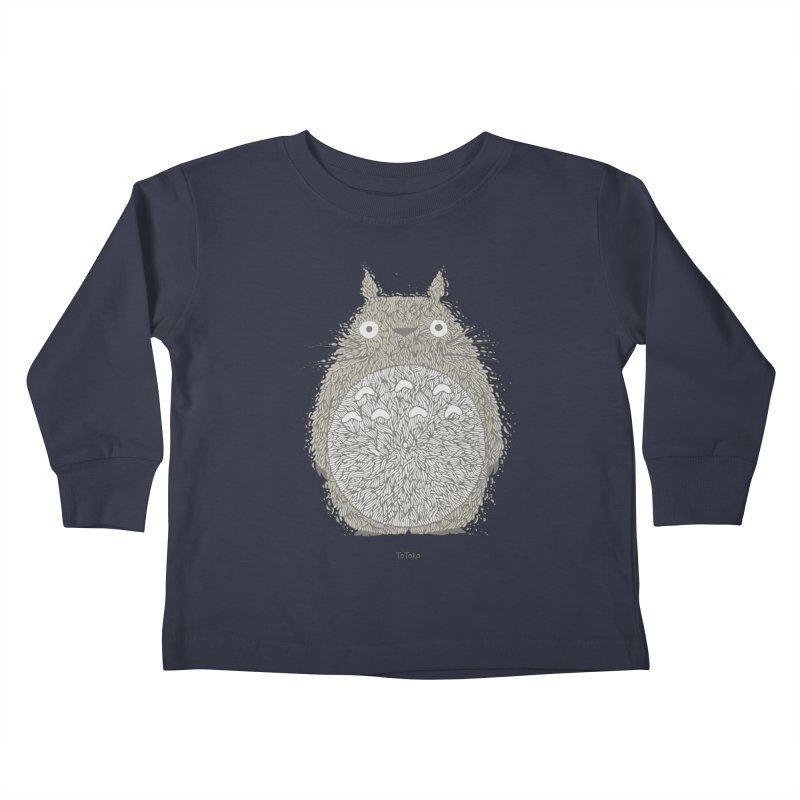 My Neighbour Kids Toddler Longsleeve T-Shirt by The Babybirds