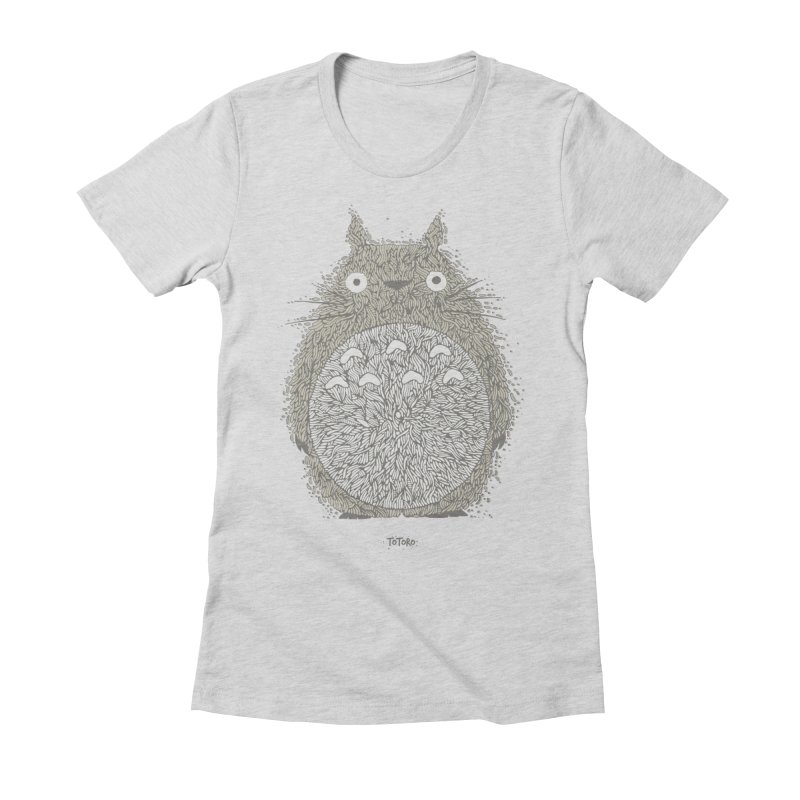 My Neighbour Women's Fitted T-Shirt by The Babybirds