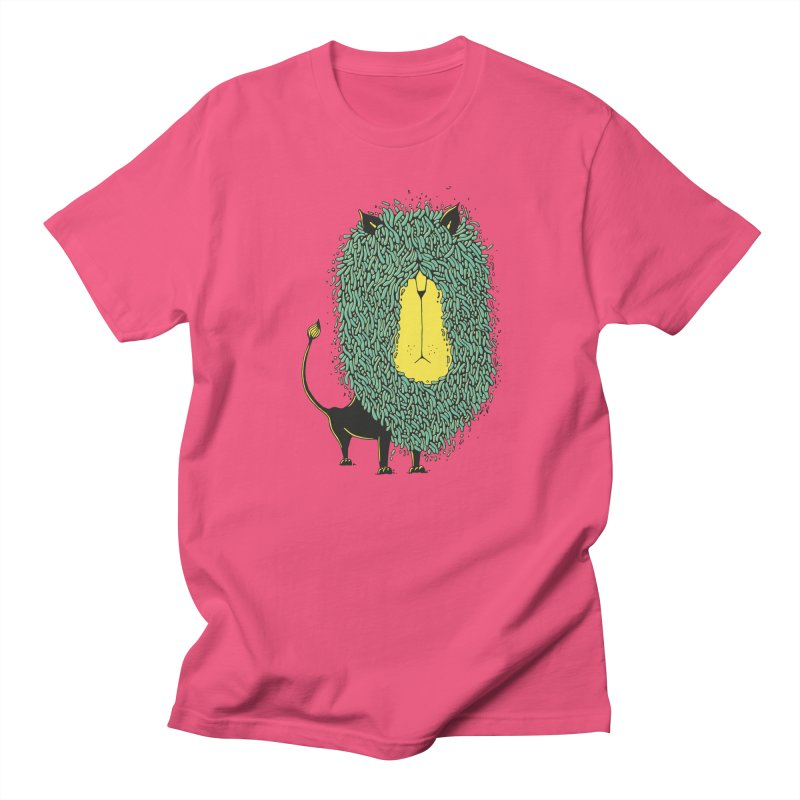 Afro Lion Women's Unisex T-Shirt by The Babybirds