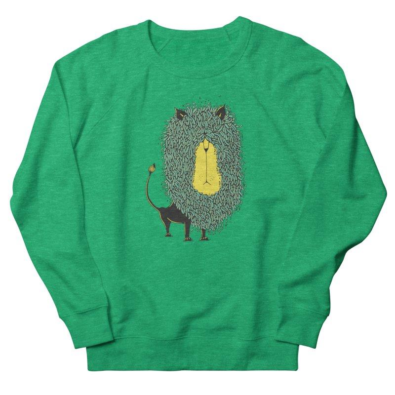 Afro Lion Men's Sweatshirt by The Babybirds