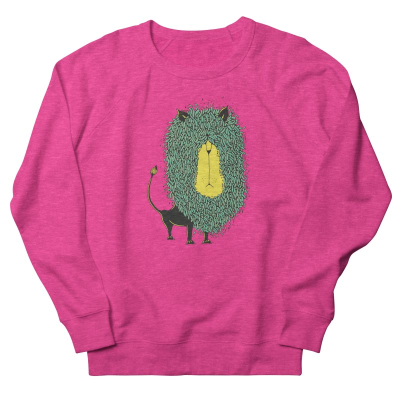 Afro Lion Men's Sweatshirt by The Babybirds
