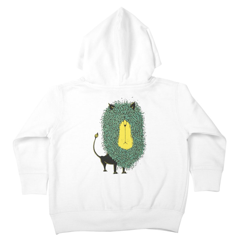 Afro Lion Kids Toddler Zip-Up Hoody by The Babybirds