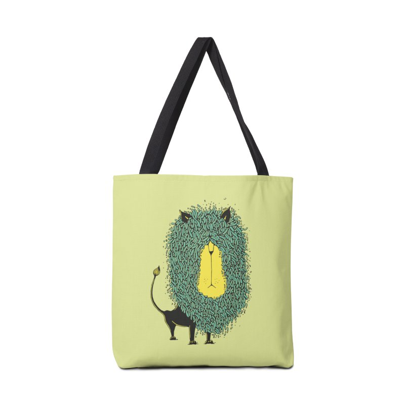 Afro Lion Accessories Tote Bag Bag by The Babybirds