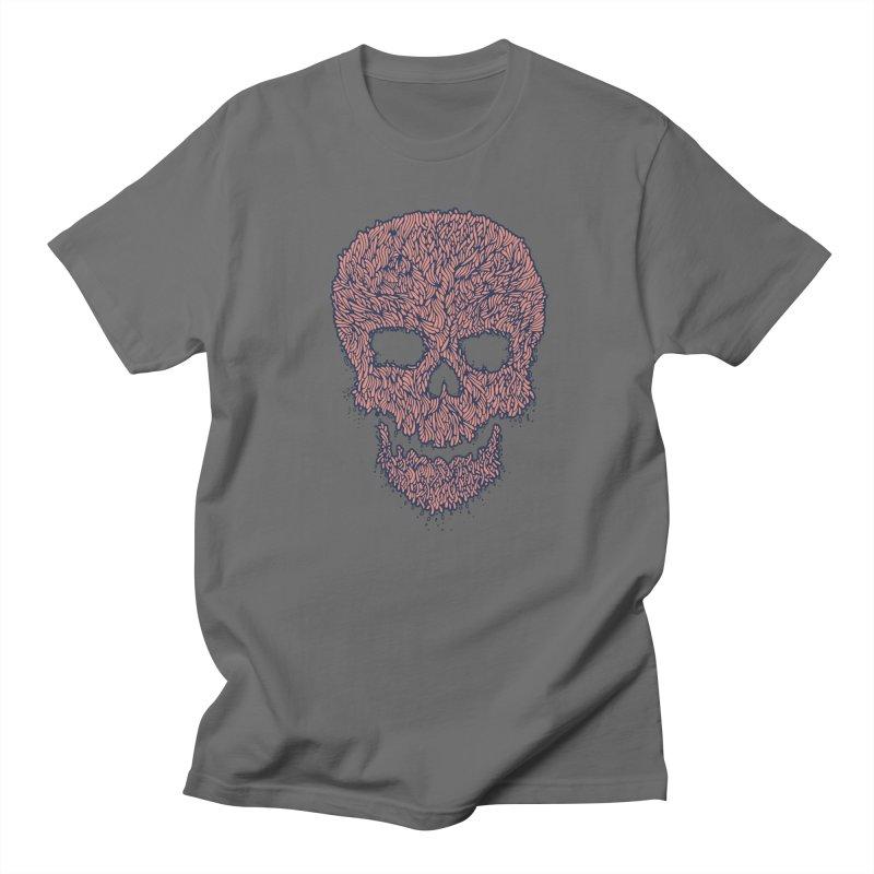 Organic Skull Men's T-Shirt by The Babybirds