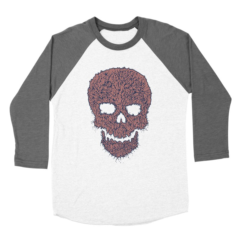 Organic Skull Women's Longsleeve T-Shirt by The Babybirds