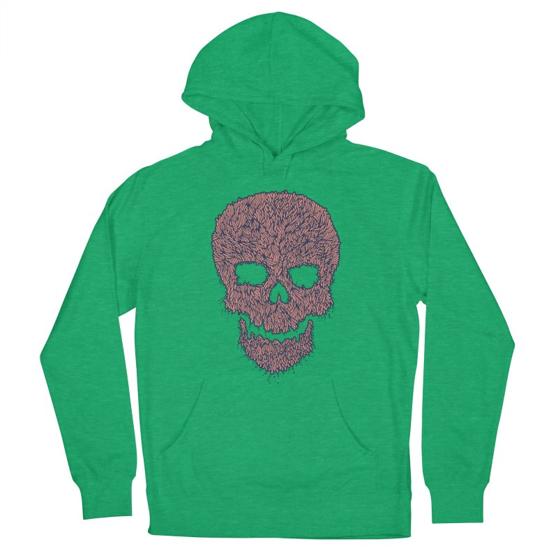 Organic Skull Men's Pullover Hoody by The Babybirds