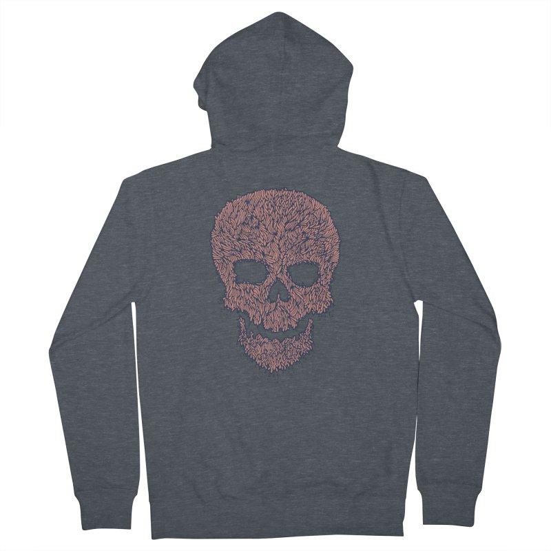 Organic Skull Women's Zip-Up Hoody by The Babybirds