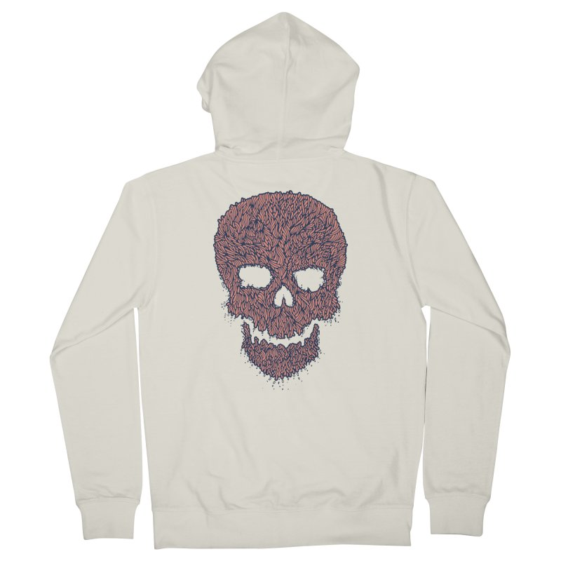Organic Skull Women's French Terry Zip-Up Hoody by The Babybirds