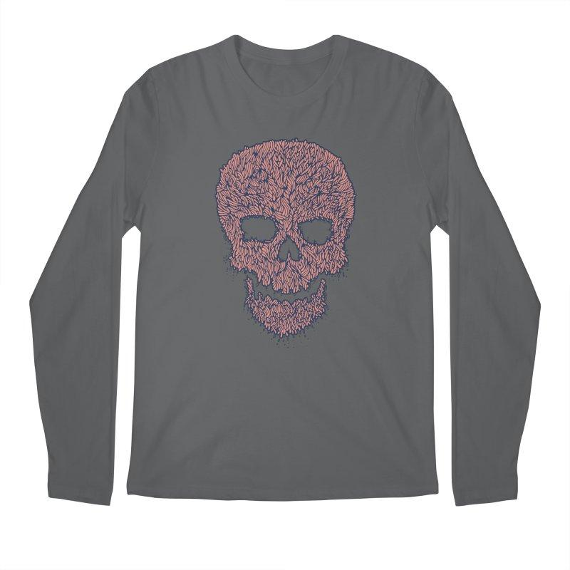 Organic Skull Men's Regular Longsleeve T-Shirt by The Babybirds