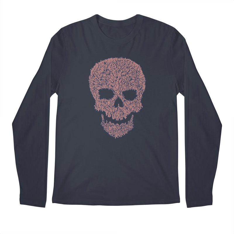 Organic Skull Men's Regular Longsleeve T-Shirt by The Babybirds