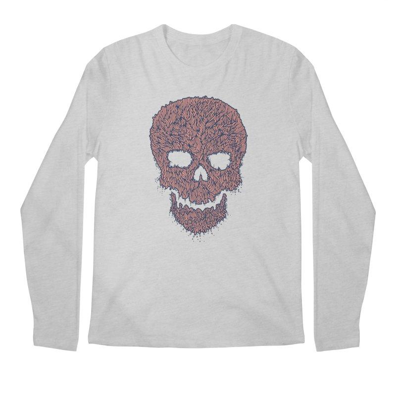 Organic Skull Men's Longsleeve T-Shirt by The Babybirds
