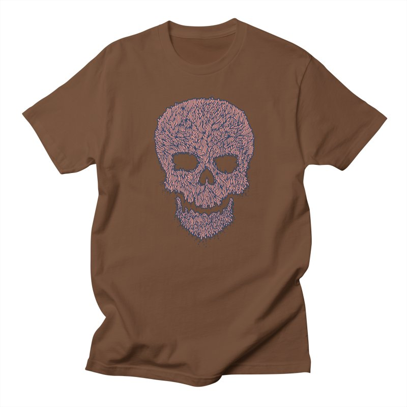 Organic Skull Men's T-shirt by The Babybirds