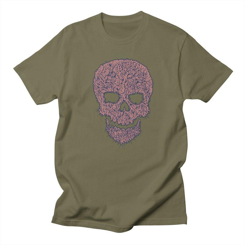 Organic Skull Women's Regular Unisex T-Shirt by The Babybirds