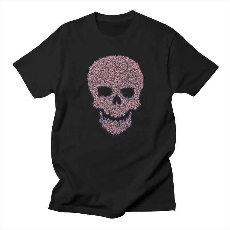 Organic Skull Men's Regular T-Shirt by The Babybirds