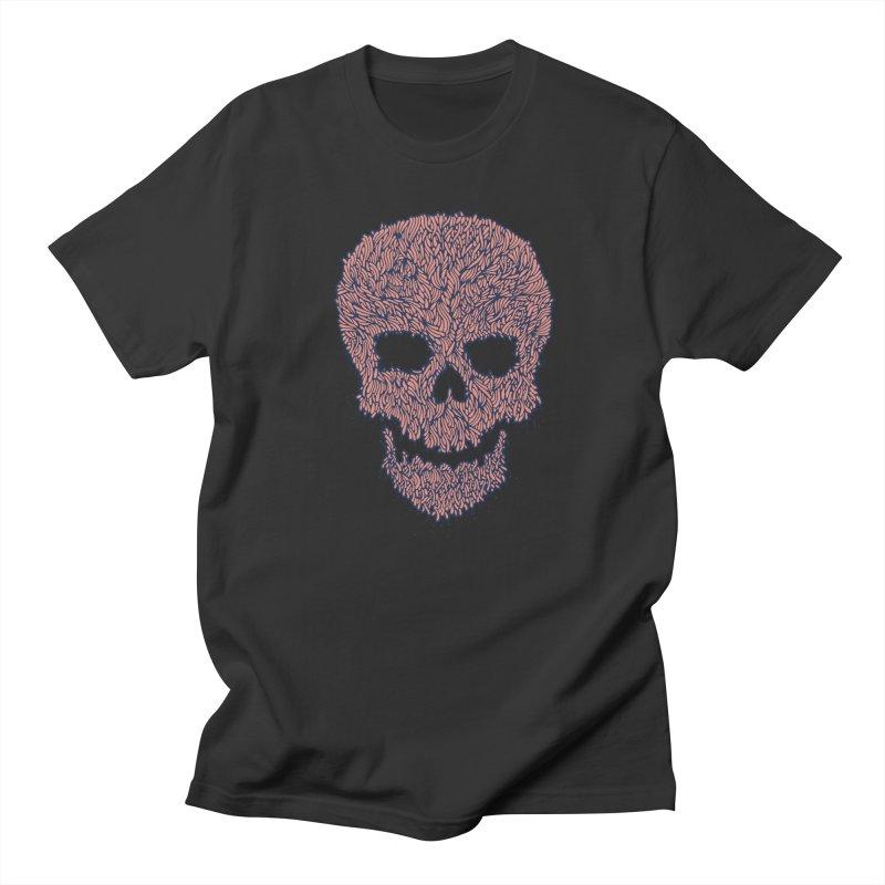 Organic Skull Men's Regular T-Shirt by The Babybirds