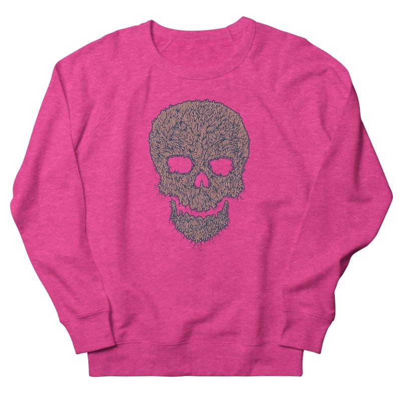 Organic Skull Women's French Terry Sweatshirt by The Babybirds