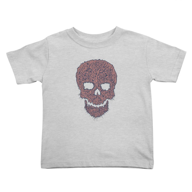 Organic Skull Kids Toddler T-Shirt by The Babybirds