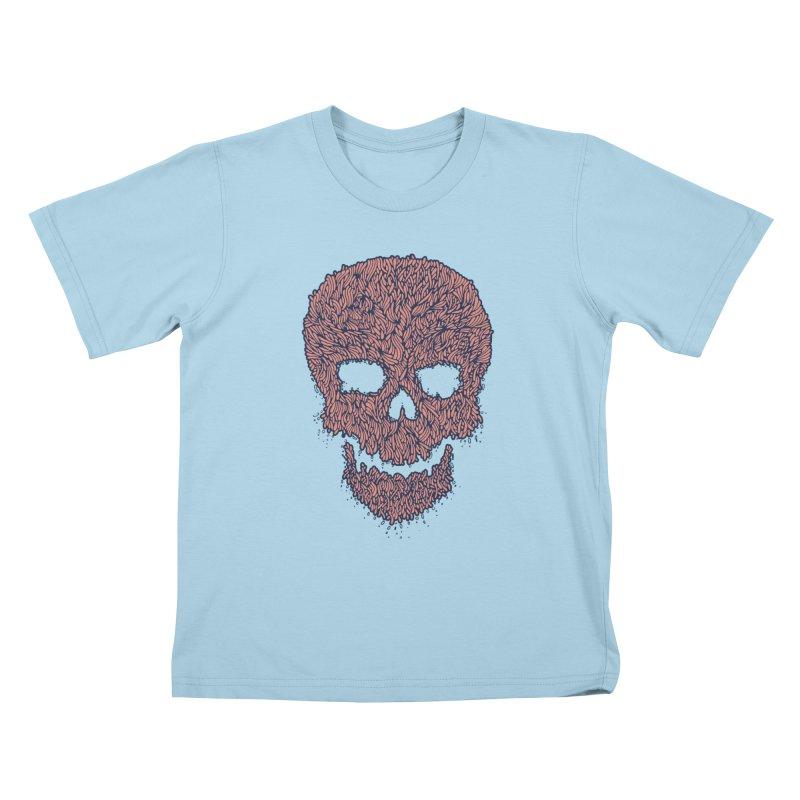Organic Skull Kids T-shirt by The Babybirds