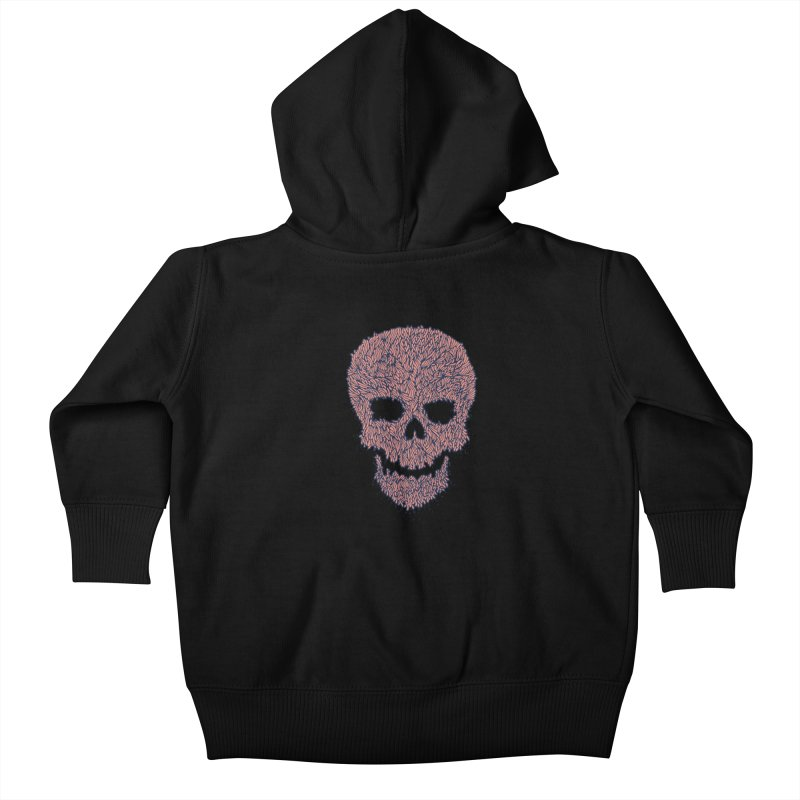 Organic Skull Kids Baby Zip-Up Hoody by The Babybirds