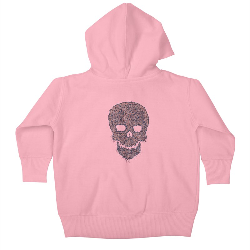 Organic Skull Kids Baby Zip-Up Hoody by The Babybirds