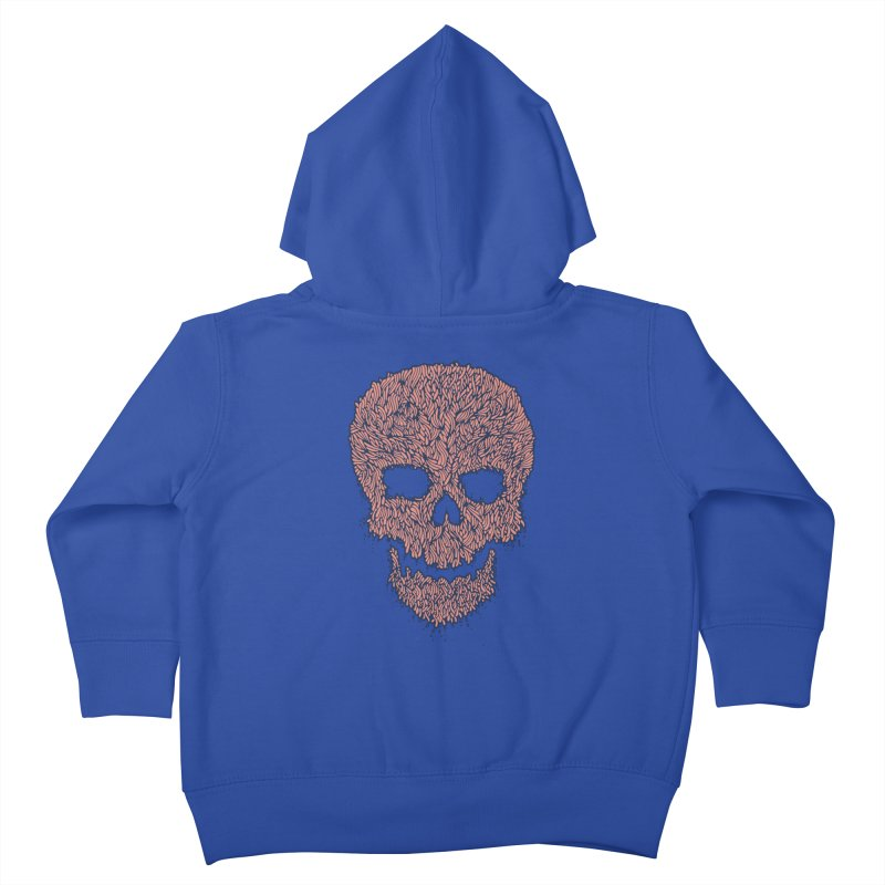 Organic Skull Kids Toddler Zip-Up Hoody by The Babybirds