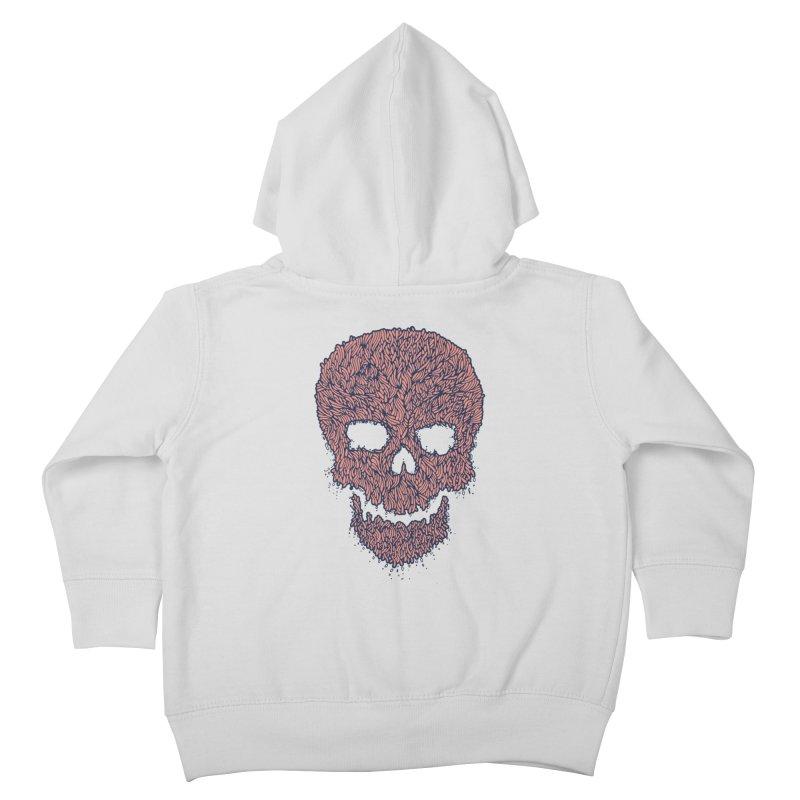 Organic Skull Kids Toddler Zip-Up Hoody by The Babybirds
