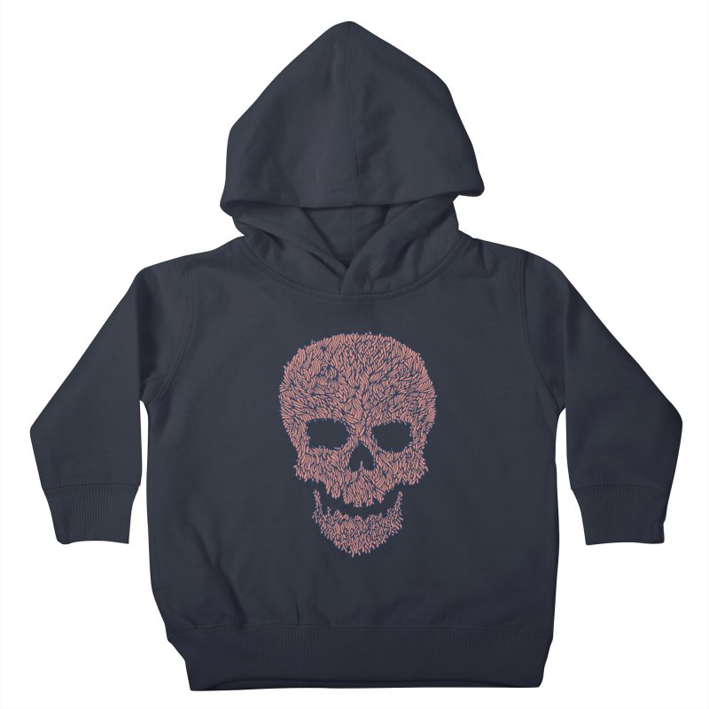 Organic Skull Kids Toddler Pullover Hoody by The Babybirds