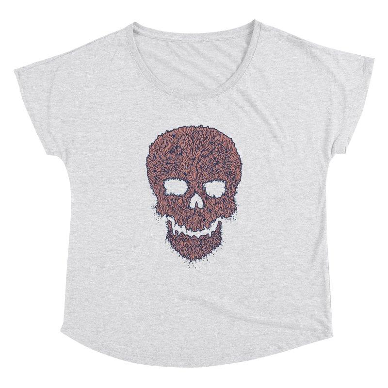 Organic Skull Women's Dolman by The Babybirds