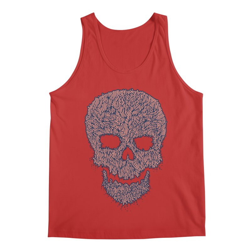 Organic Skull Men's Regular Tank by The Babybirds