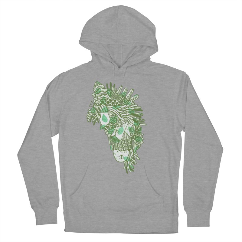 Vegetation Women's Pullover Hoody by The Babybirds