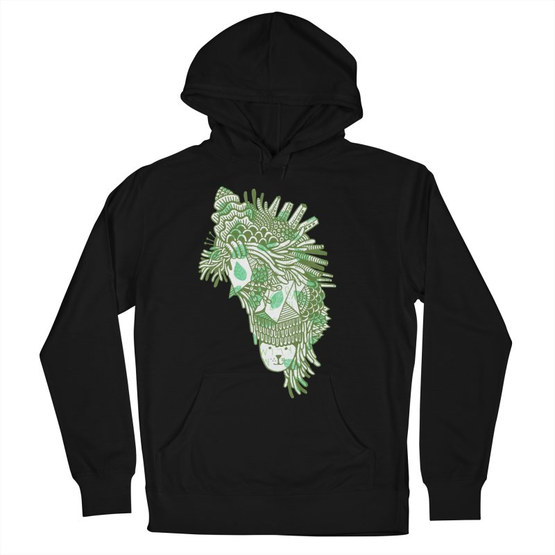 Vegetation Men's French Terry Pullover Hoody by The Babybirds