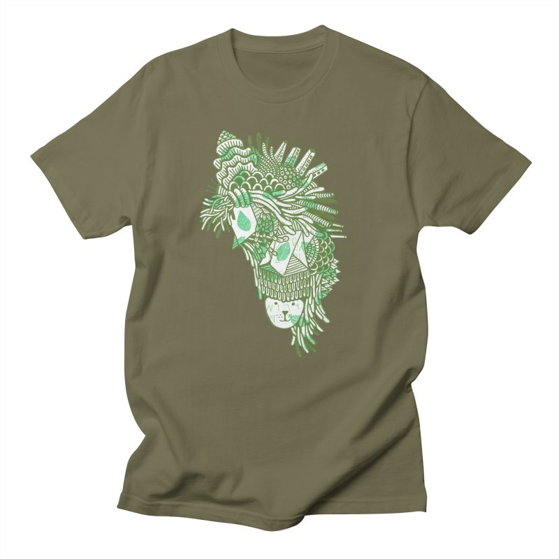 Vegetation Men's Regular T-Shirt by The Babybirds