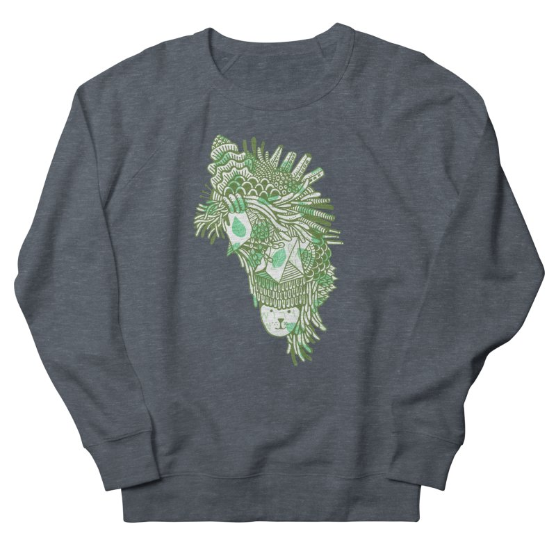 Vegetation Women's French Terry Sweatshirt by The Babybirds