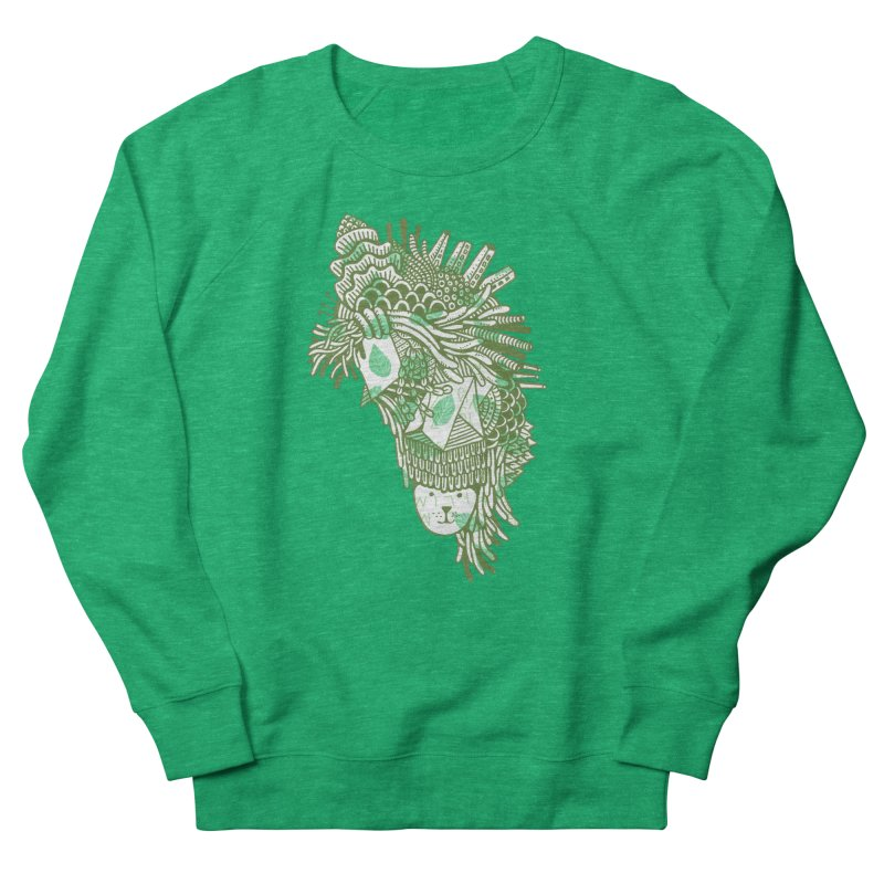 Vegetation Men's Sweatshirt by The Babybirds