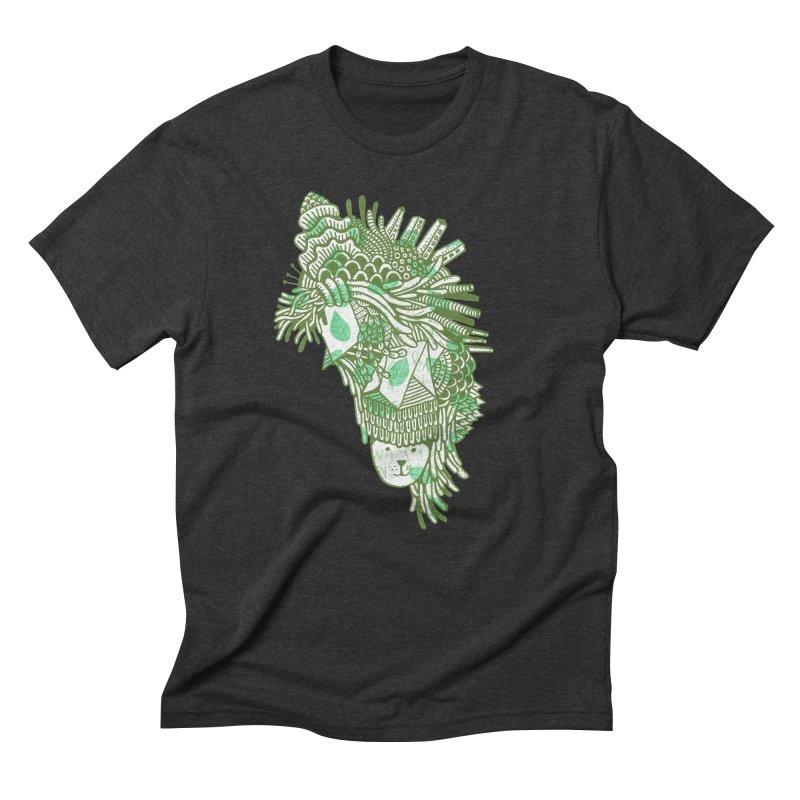 Vegetation Men's Triblend T-Shirt by The Babybirds